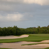 A view of hole #14 at El Camaleon Mayakoba Golf Club